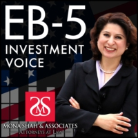 Logo of the podcast EB-5 Investment Voice