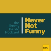 Logo of the podcast Never Not Funny: The Jimmy Pardo Podcast