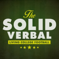 Logo of the podcast The Solid Verbal: Living College Football