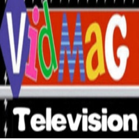 Logo of the podcast VidMag Television on the Radio