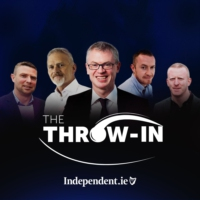 Logo of the podcast The Throw-In
