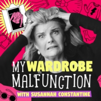 Logo of the podcast My Wardrobe Malfunction with Susannah Constantine
