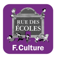 Logo of the podcast France Culture - Rue des écoles