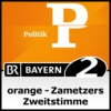 Logo of the podcast orange - Zametzers Zweitstimme - Bayern 2