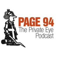 Logo of the podcast Cartooning and Phone Hacking