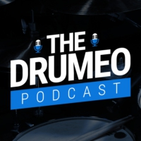 Logo of the podcast EP28: Drum Recording Tips From Victor Guidera (Drumeo's Audio Guru)