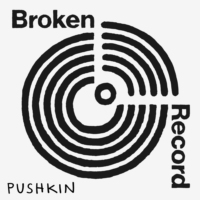 Logo of the podcast Broken Record with Rick Rubin, Malcolm Gladwell, Bruce Headlam and Justin Richmond