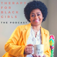 Logo of the podcast Therapy for Black Girls