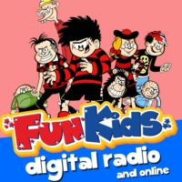Logo of the podcast Beanotown (Dennis the Menace and Gnasher) on Fun Kids