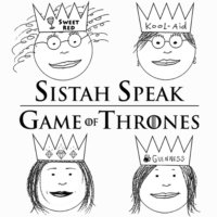 Logo of the podcast Sistah Speak: Game of Thrones