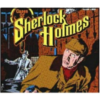 "Logo du podcast Sherlock Holmes Adventures 1  ""Bruce Partington"""