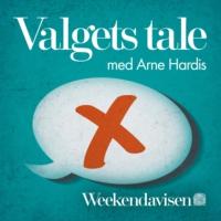 Logo du podcast Valgets tale med Arne Hardis