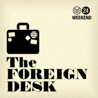 Logo of the podcast The Foreign Desk Live