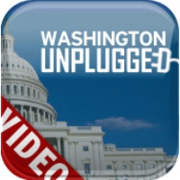 "Logo du podcast Romney: Middle East turmoil ""hardly"" a bump in the road"