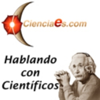 Logo of the podcast La larga historia de un gen. Hablamos con Jorge Laborda.