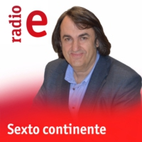 Logo of the podcast Sexto continente - 34 poetas españolas del S. XXI - 10/08/12