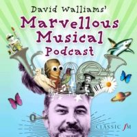 Logo du podcast David Walliams' Marvellous Musical Podcast