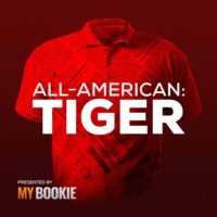 Logo of the podcast All-American: Tiger Woods