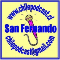 Logo du podcast ChilePodcast..El Primer Podcast Educativo de Chile