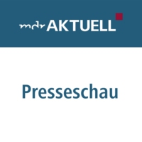 "Logo of the podcast Die Presseschau zu Dobrindts ""Anti-Abschiebung-Industrie"""
