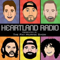 Logo of the podcast Heartland Radio: Presented by The Pat McAfee Show