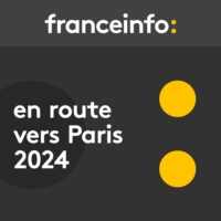 Logo du podcast En route vers Paris 2024. La gymnastique artistique