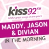 Logo of the podcast Kiss92 - Maddy, Jason & Divian In The Morning
