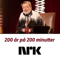 Logo of the podcast 200 år på 200 minutter med Frank Aarebrot - del 1