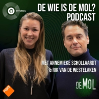 Logo of the podcast De Wie is de Mol? Podcast