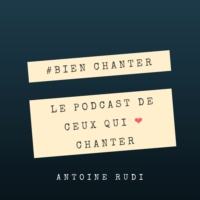 Logo du podcast CHANTER avec une LARYNGITE