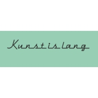 Logo du podcast KUNST IS LANG (en het leven is kort)