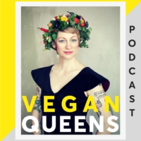 Logo of the podcast Vegan Queens