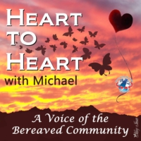 Logo of the podcast Heart to Heart with Michael