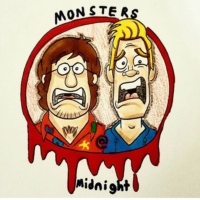 Logo of the podcast Monsters at Midnight