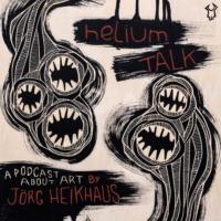 Logo of the podcast heliumTALK - das Kunstgespräch