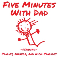 Logo of the podcast Five Minutes With Dad