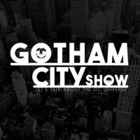 Logo of the podcast DC Universe: Gotham City Show