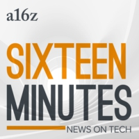 Logo of the podcast 16 Minutes News by a16z
