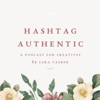 Logo of the podcast Hashtag Authentic - for Instagram, Blogging and beyond
