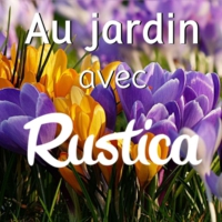Logo of the podcast Au jardin avec Rustica