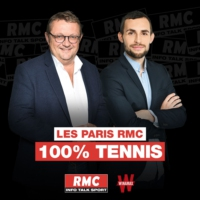Logo of the podcast Les Paris RMC 100% Tennis