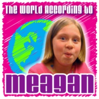 Logo of the podcast 003 World According To Meagan – This Episode Sponsored By God?