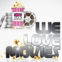 Logo of the podcast We Love Movies