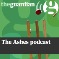 Logo of the podcast The Ashes podcast