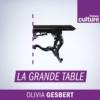Logo of the podcast La Grande table