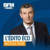 Logo of the podcast L'édito éco de Nicolas Doze