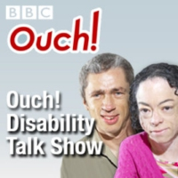 Logo of the podcast Inside Ouch: IS release video featuring two deaf fighters