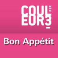 Logo du podcast RSR - Bon Appétit - Couleur 3