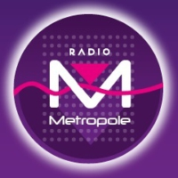 Logo of radio station Metropole 106.5 FM