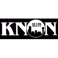 Logo of radio station KNON 89.3 FM